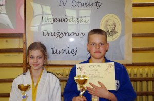 Maja Gawełek i Dominik Piątek
