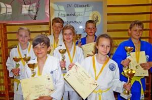 UKS Arashi Łódź I miejsce Drużynowy Turniej Judo 09.V.2015r